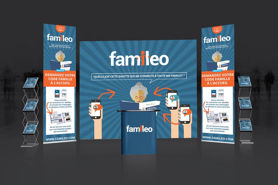 Famileo - La Plage Graphique