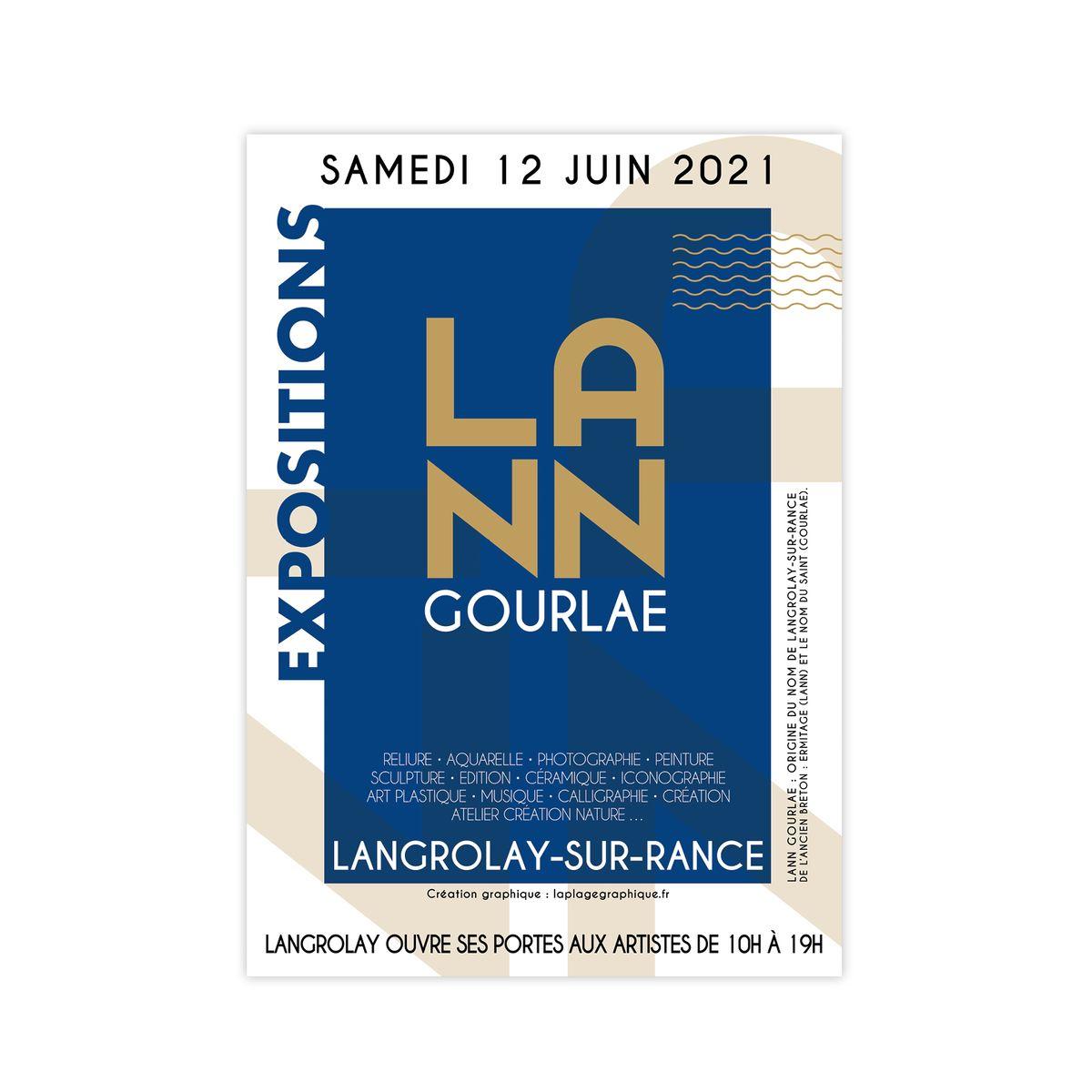 LANN GOURLAE à Langrolay-sur-Rance : création graphique